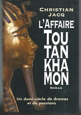 L'affaire Toutankhamon.Christian JACQ.France Loisirs CV15