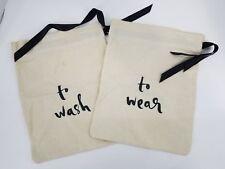 Kate Spade New York Women's To Wash & To Wear Travel Storage Bag 2pc Set, Cute