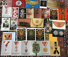 Vintage Postcards photos Of Military Orden Medals Europe 1900-1930