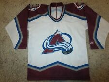 Colorado Avalanche Avs CCM NHL Hockey Jersey Youth Boys Small 6 children