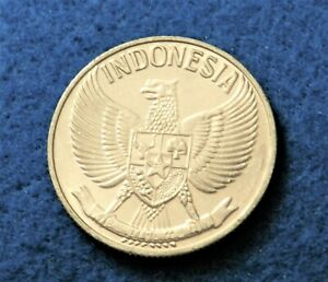 1961 Indonesia 50 Sen - Full Luster Coin - Very Nice - See Pictures