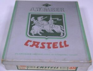 Faber Castell Pencil Box Paper Cardboard Empty No. 9000 4H No Pencils