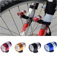 6 LED Cycling Bike Bicycle Head Front Light Warning Lamp Safety Waterproof SALE