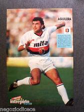 [GCG] BC06 - Clipping-Ritaglio - 1991 - POSTER INTREPIDO , AGUILERA , GENOA