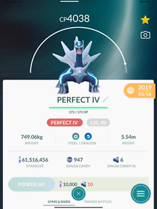 Pokemon GO  Dialga / Remote Raid Invites/ 1 Free Invite