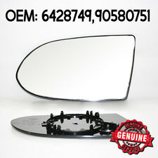 Original Left Wide Angle Heatable Mirror Glass For Opel Vauxhall Zafira A / MK1