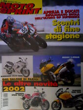 Motosprint 40 2001 Aprilia e Ducati nel GP Superbike. Kawasaki ZZ-R 1200  [Q69]