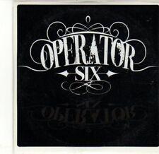 (CA482) Operator Six, The Realist - 2011 DJ CD