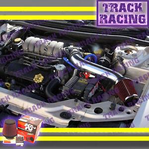 95-00 DODGE STRATUS/SEBRING/CIRRUS 2.5 2.5L V6 LONG AIR INTAKE+K&N Black Red 2