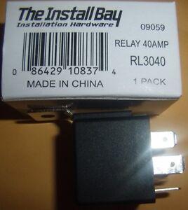 (3) 12V DC Bosch/OEM Type Standard Relay SPDT 30/40 Amp Car Alarm Remote Start