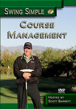 Course Management Golf Instruction Dvd Video - How To Playing The Course