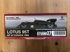 Studio 27 1/20 Lotus 95T GP of Canada1984 Resin Photo Etch FK20201 NOT TRANSKIT