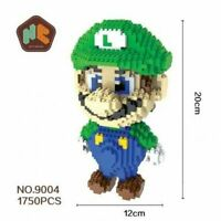 Balody HC Magic Blocks Super Mario LUIGI Diamond Building Toys Gift Collection