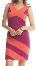 Synergy Organic Clothing Criss Cross Dress NWT Beet/Coral Organic Cotton