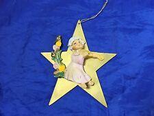 Vintage DEPOSE ITALY Angel Cherub  Ornament Star 21633