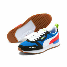 PUMA Men's R78 Sneakers Color Palace Blue Black White Free Shipping