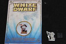 Juegos taller Warhammer la enana blanca Edición limitada de piloto aviador de 2011 Nuevo