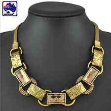 Necklace Gorgeous Lady Jewelry Gold Coat Chain Champagne Rhinestone JNECK1301