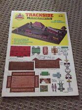 Vintage AHMTRACKSIDE Ministructures HO Scale Cutout Buildings #5680J