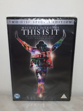 2 DVD MICHAEL JACKSON - THIS IS IT - SPECECIAL EDITION - NUOVO NEW