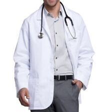 Men's 5XL White Medical Lab Coat Med Man By Cherokee Brand