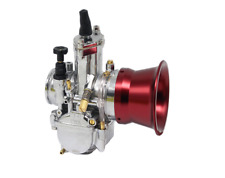 Red 63mm Motorcycle Carburetor Air Filter Wind Cup for PWK34/36/38/40/42mm Carb