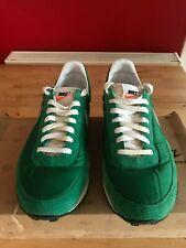 Nike Elite VNTG Trainers, Waffle Sole, Rare Green & Grey-White Colour-Size UK11