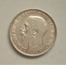 King George V 1918 Florin,  Very Fine Condition 28.4 mm Diameter {E937}