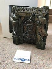 More details for dw17 door to the mended drum discworld clarecraft rare with original box card