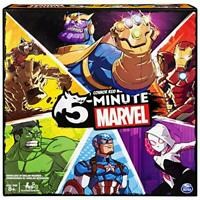 5-Minute Marvel Fast-Paced Cooperative Card Game for Marvel Fans & Kids 8 And Up