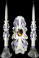 Pet memorial photo 3-piece candle set, custom made and Personalized!