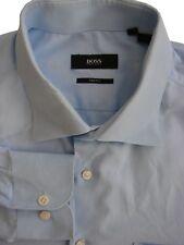 HUGO BOSS Shirt Mens 16 M Light Blue