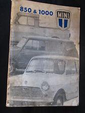Britsh Leyland Instructieboekje Mini 850 & 1000 1973 (Nederlands) (JvH)