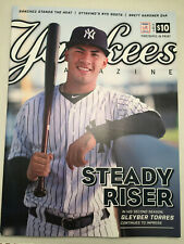 NEW YORK YANKEES MAGAZINE MAY 2019 OFFICIAL PROGRAM NY YANKEE GLEYBER TORRES