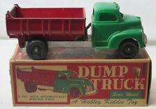 Vintage Hubley Kiddie Toy Dump Truck No. 475 W/ Box