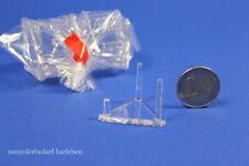 12 kleine Aufsteller Ständer Mineralien Fossilien  SL35