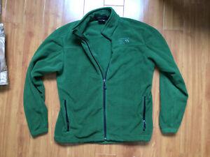 Mountain Hardwear Fleece Sweater Men's Size Medium Full Zip Polyester (Green)
