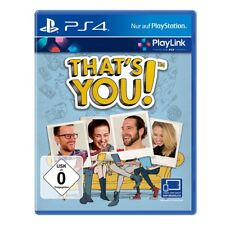 Sony that is you! Playstation 4 Game PS 4 Game Puzzle and Quiz
