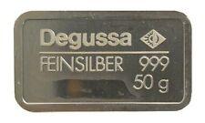 Degussa Siberbarren