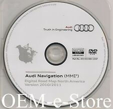 2008 2009 2010 2011 2012 Audi A5 S5 Quattro Navigation DVD Map v2010-2011 Update