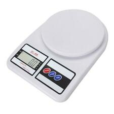 US 10kg x1g  White Digital LCD Electronic Kitchen Cooking Food Weighing Scales