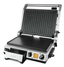 NEW Breville BGR840BSS The Smart Grill Pro Polished Stainless Steel