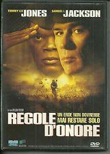 DVD Regole d'onore. Tommy Lee Jones, Samuel L. Jackson