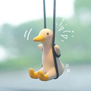 Duck Car Pendant Swing Duck Car Mirror Hanging Ornament Car Pendant Decor Gift