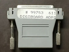 Digiboard Adapter 99753 611 DB25 Female to RJ45 Modular Adapter