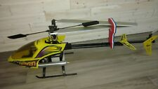 Century Raven 50 hobby grade remote control nitro helicopter o.s. max sx .50