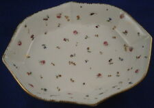 18thC Nyon Porcelain Tea Pot Stand / Tray Porzellan Schale Swiss Switzerland