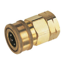 """SNAP-TITE QUICK RELEASE COUPLINGS - 3/8"""" BSP FEM COUPLING BRASS NITRILE SEAL 2-0"""