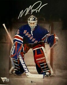 New York Rangers Mike Richter Signed 8x10 Photo Fanatics Holo