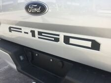 2018 FORD F150 TAILGATE Decal Inserts - MATTE BLACK